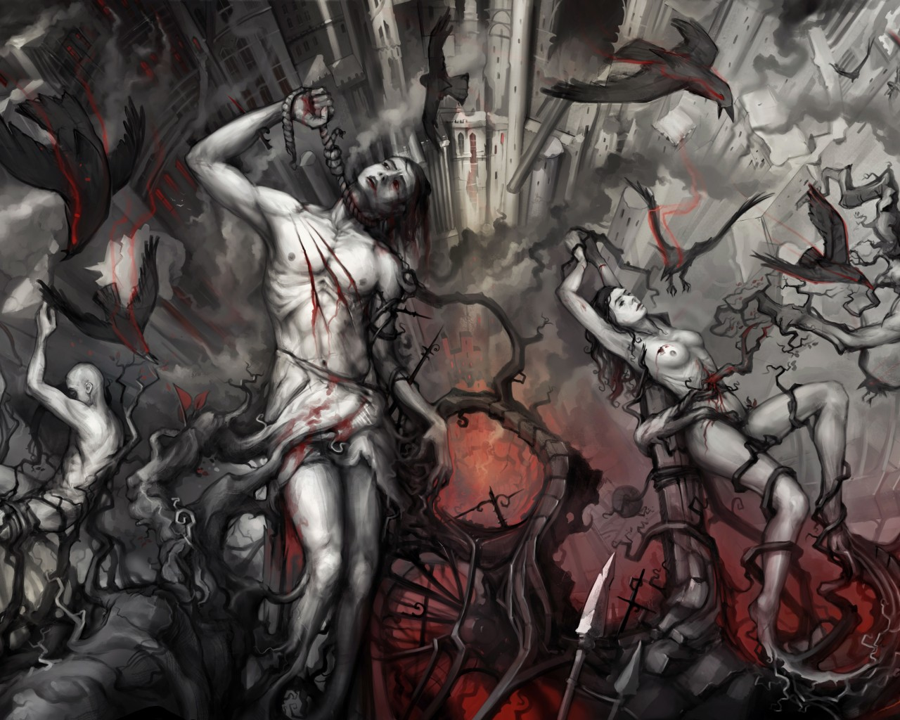 dantes inferno and sinners punishments The sinners confess their sins to minos  as they leave the third circle, dante asks virgil how the punishments of the souls will change after the last judgment.